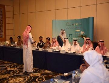 أجتماع مدراء العلاقات بالأجهزة الحكومية للتعريف بالجائزة