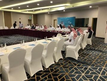 أجتماع مدراء العلاقات العامة للشركات في مدينة الجبيل